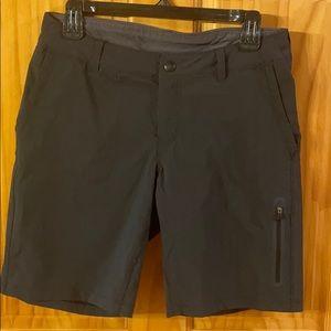 REI Black Hiking Shorts Size 8